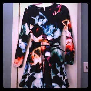 Brand new with tags Bebe long sleeve dress